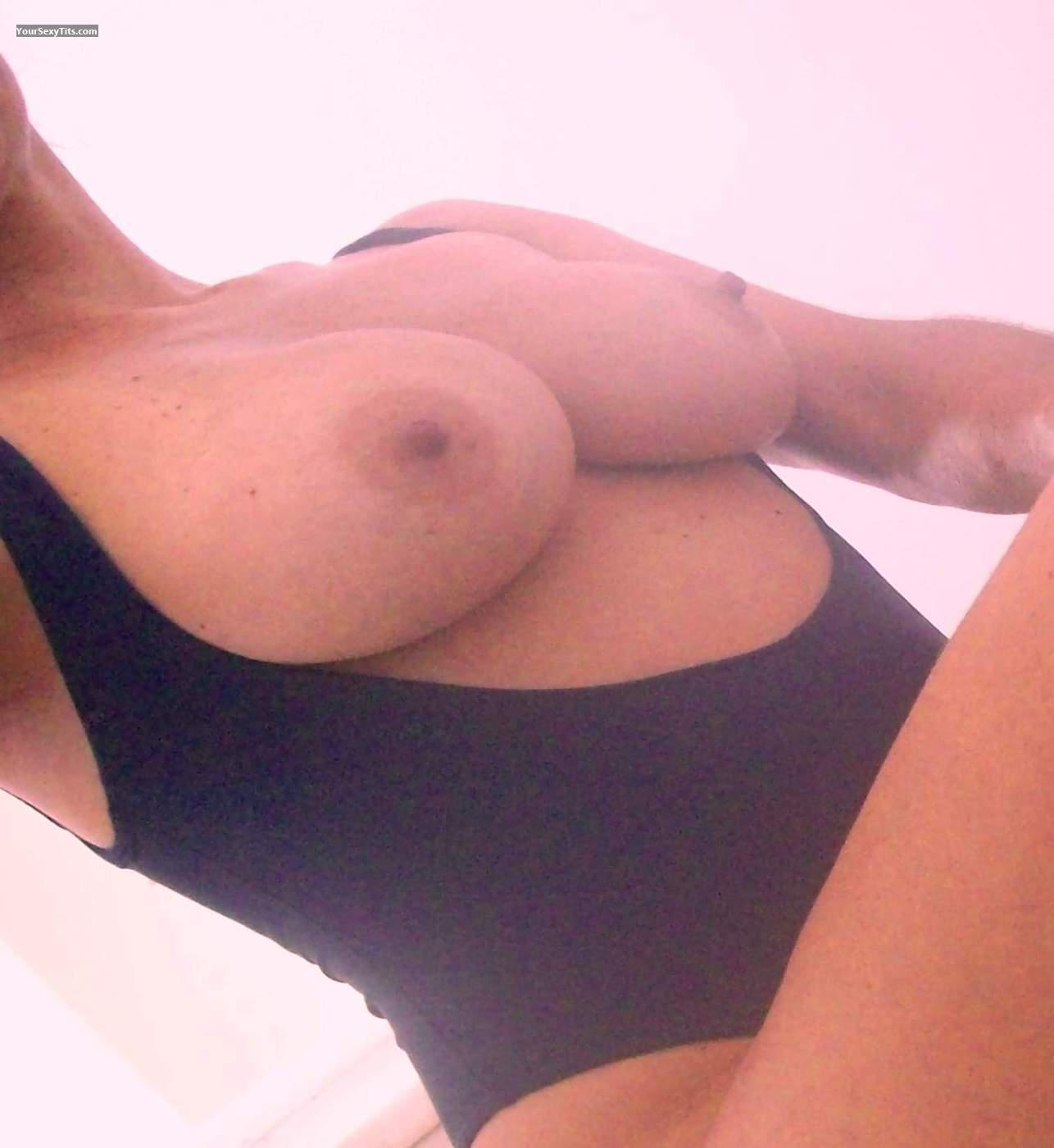Tit Flash: Medium Tits - Fernanda From Brazil from United States
